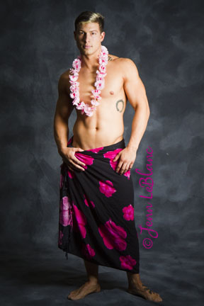 Derek Hutchins as samoan by Jenn LeBlanc